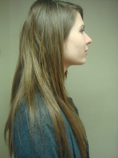 View more photos of Portland client hair extensions