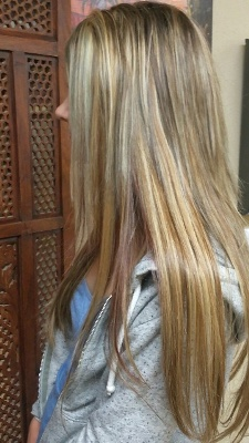 Click to find out more about Straight Blonde Hair Extensions